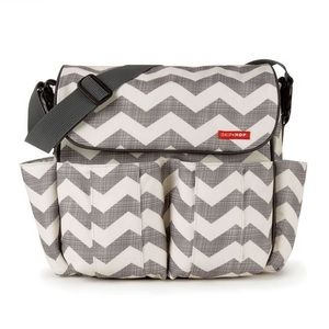 Skip Hop Dash Diaper Bag - Chevron
